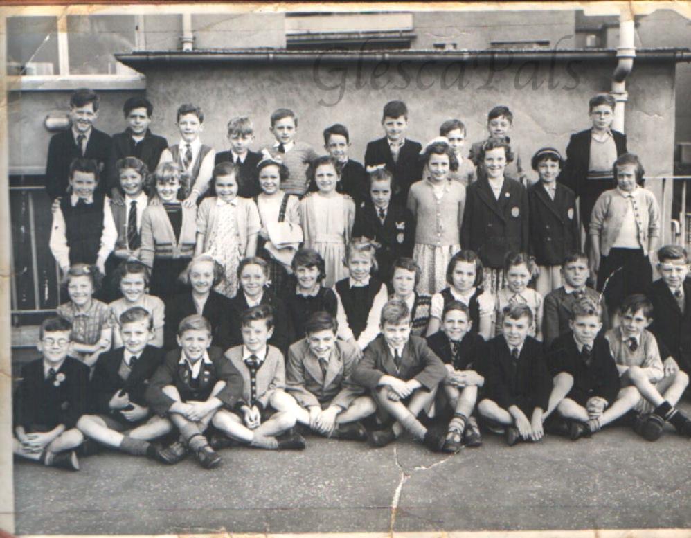 Miltonbank Primary 1956 57